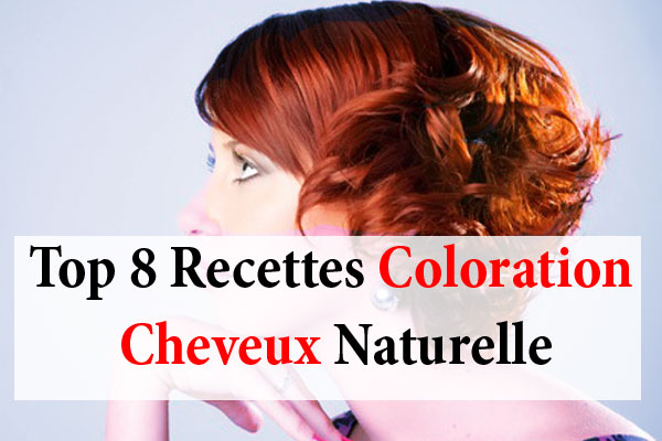 Coloration cheveux naturelle maison