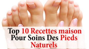 10 Recettes maison pour soins des pieds naturels