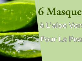 6 masques à l'aloe vera pour la peau - Comment faire un masque pour le visage à l'Aloe vera