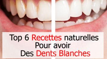 6 Recettes naturelles pour avoir des dents blanches