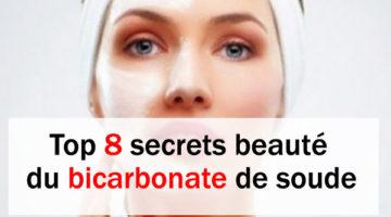 Top 8 secrets de la beauté du bicarbonate de soude