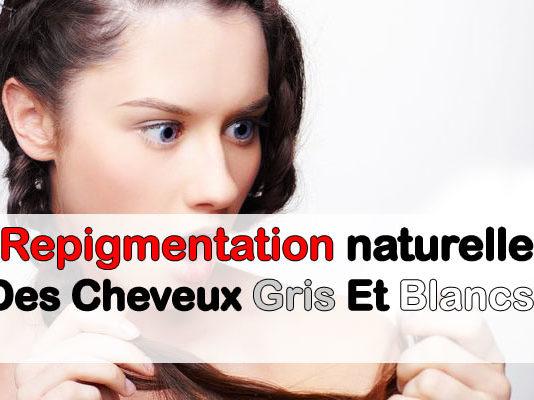 Repigmentation naturelle des cheveux gris et blancs