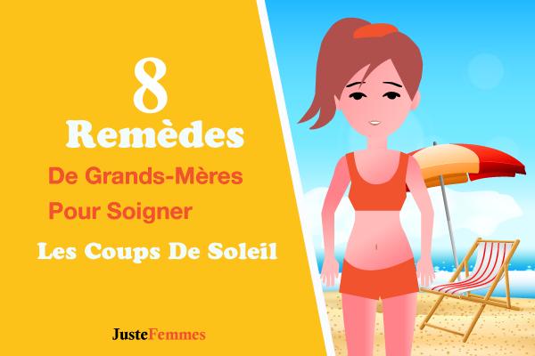 8 Remèdes De Grands-Mères Pour Soigner Les Coups De Soleil