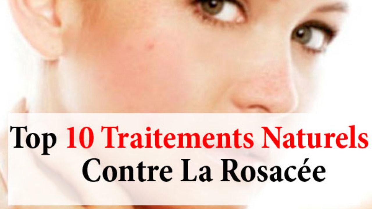 Acné rosacée traitements naturels - La beauté naturelle