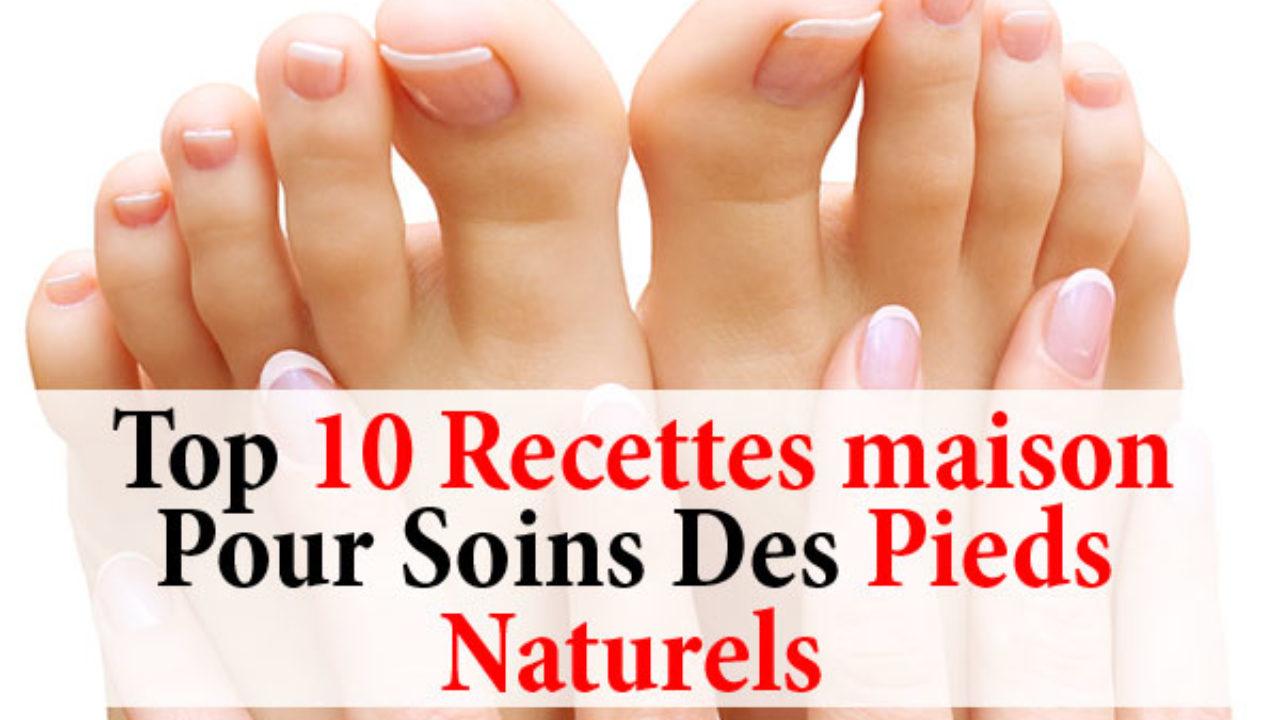 9 Recettes Maison Pour Soins Des Pieds Naturels - La beauté naturelle