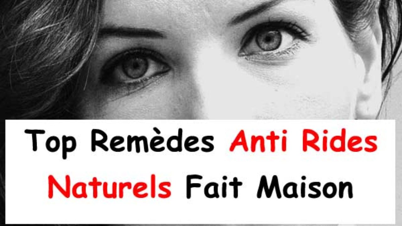 le plus populaire ramasser aliexpress 13 Remèdes Anti Rides Naturels Fait Maison - La beauté naturelle